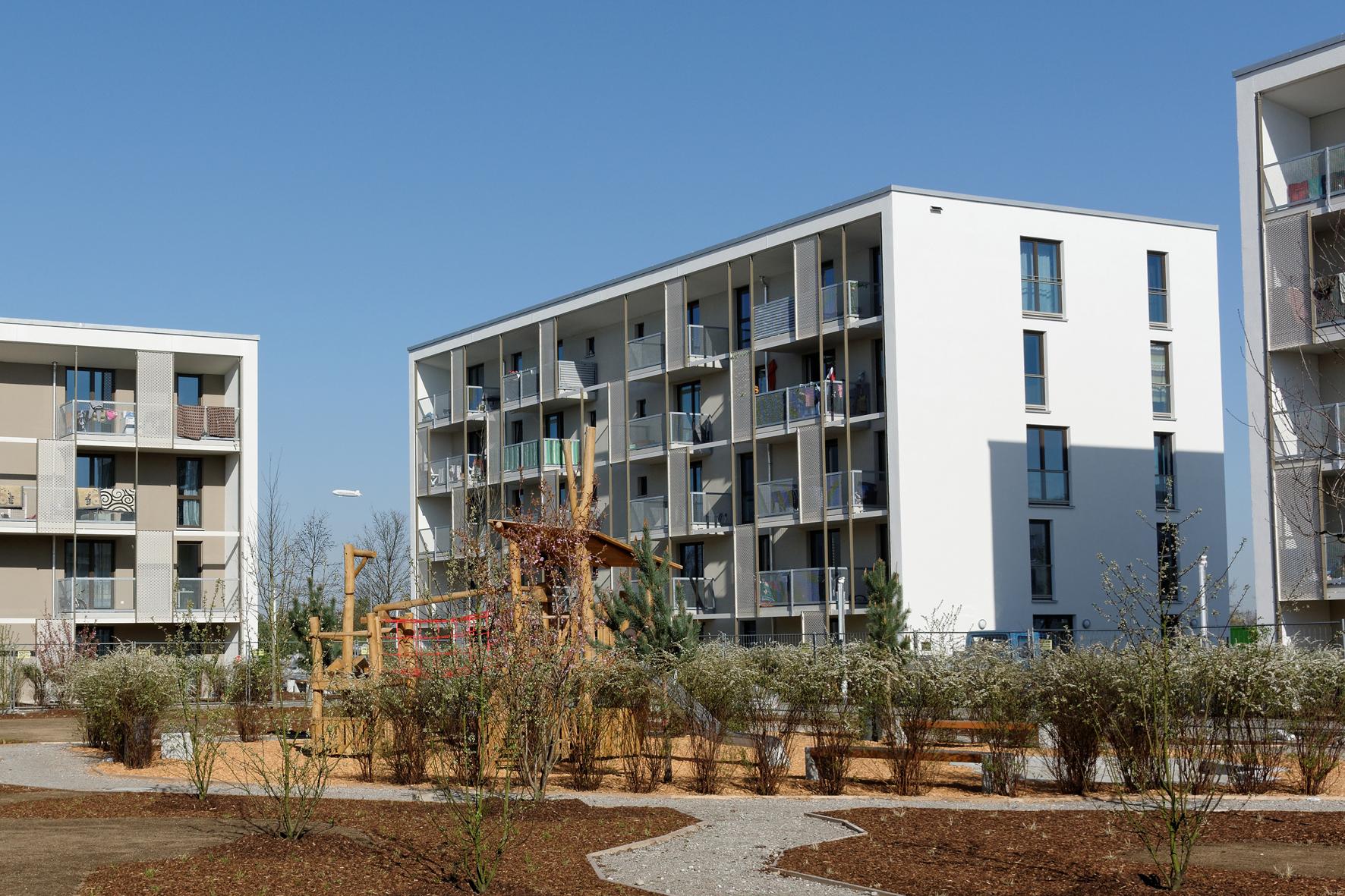 Gewofag Stellt Rund 200 Wohnungen In Der Messestadt Riem Fertig